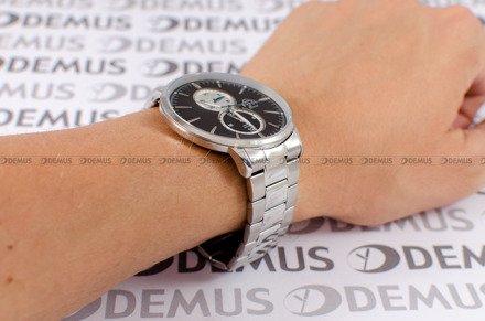 Zegarek Męski FujiTime M7108QS-Black-Silver
