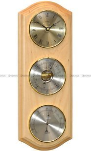 Barometr Termometr Zegar TFA RobertZegar-N-0-Buk2