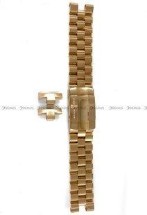 Bransoleta stalowa do zegarka Vostok Lunokhod - 25 mm - różowe-złoto