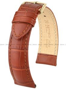 Pasek skórzany do zegarka - Hirsch Duke 01028170-1-17 - 17 mm - M