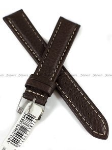 Pasek skórzany do zegarka - Morellato A01U2987918834CR18 - 18 mm