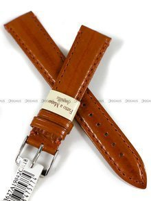 Pasek skórzany do zegarka - Morellato A01U3627A19042CR18 - 18 mm