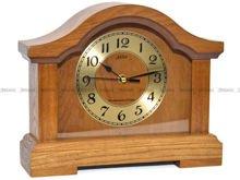 Zegar kominkowy Adler 22093-CD odcień dąb, biurkowy, na komodę