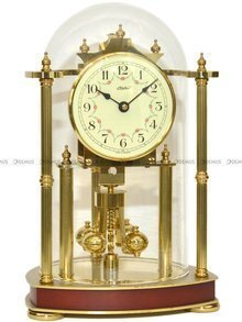 Zegar kominkowy mechaniczny Haller 2160-3 30x18 cm