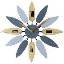 Zegar ścienny MPM Blossom Woody E04.4111.9280 - 51 cm