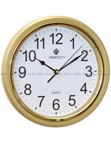 Zegar ścienny Perfect FX-5842CK Złoty - 28 cm