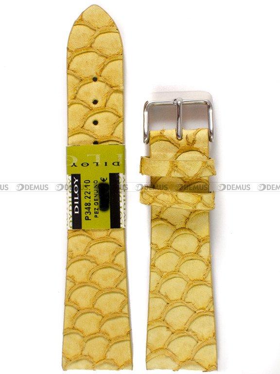 21c7c0ff6e0707 Pasek skórzany do zegarka - Diloy P348.22.10 - 22 mm | Sklep Demus ...