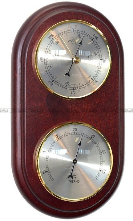 Barometr Termometr TFA OWAL2D-N-BT-05-CH - 26x14 cm