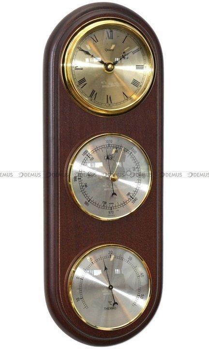 Barometr Termometr Zegar TFA Owal3DZegar-N-010-WA
