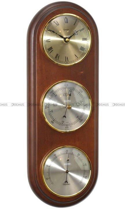Barometr Termometr Zegar TFA Owal3DZegar-N-09-WA
