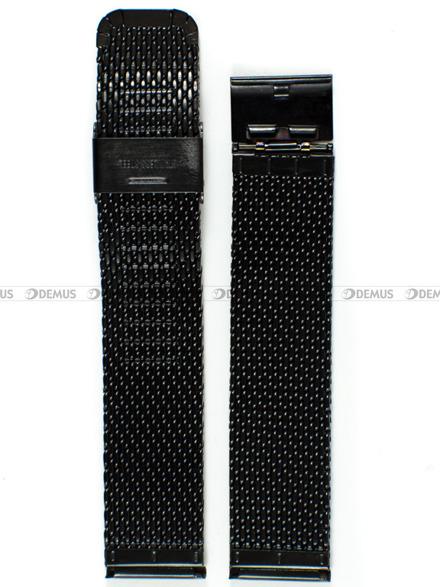 Bransoleta stalowa mesh do zegarka - Bra15 - 20 mm