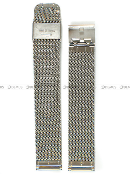 Bransoleta stalowa mesh do zegarka - Bra5 - 18 mm