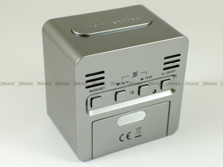 Budzik cyfrowy sterowany radiowo JVD RB9234.1