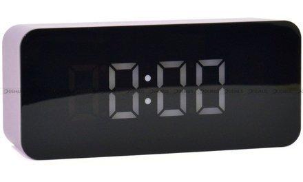 Budzik cyfrowy z termometrem JVD SB6612.3 - 7x16 cm