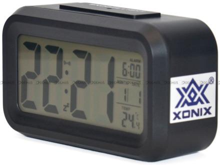 Budzik cyfrowy z termometrem Xonix GHY-510-Black