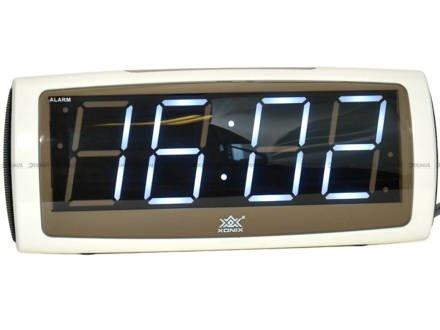 Budzik sieciowy LED Xonix 1819-White