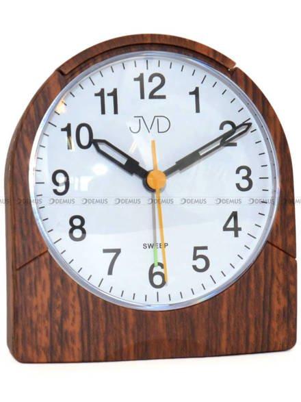 Budzik z płynącą wskazówką JVD SRP889.4 - 10x9 cm