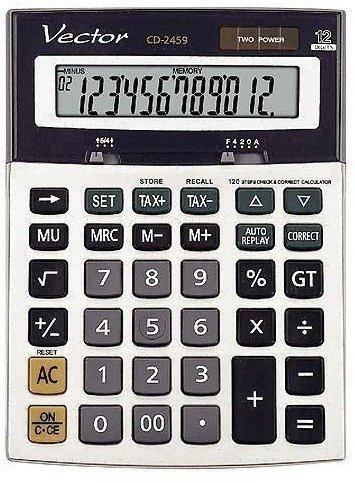 Kalkulator Vector CD-2459