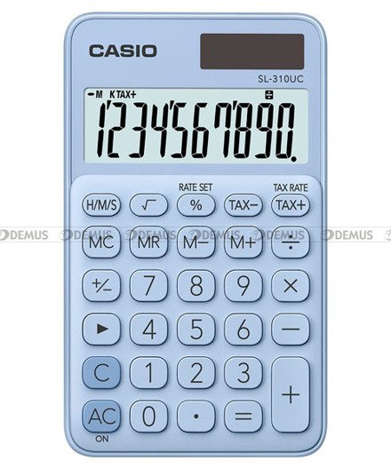 Kalkulator biurowy Casio SL-310UC-LB-S