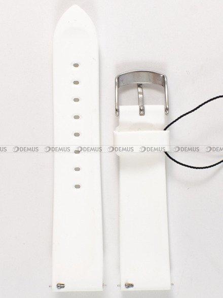 Pasek silikonowy do zegarka Vostok Europe Undine VK64-515A524 - 20 mm