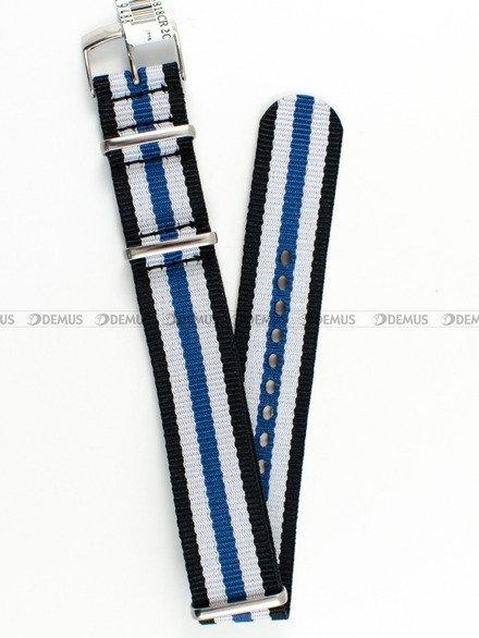 Pasek bawełniany do zegarka - Morellato A01U3972A74818 - 20 mm