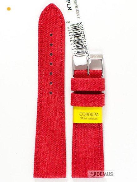Pasek do zegarka skórzano-nylonowy - Morellato A01U2779110083 20 mm