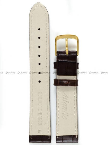 Pasek do zegarka skórzany Atlantic - L397.02.18G - 18 mm