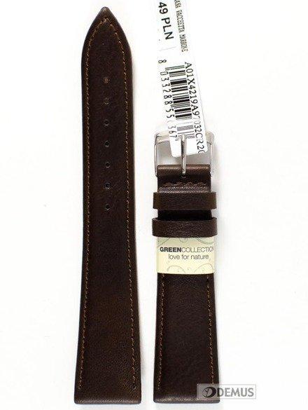 Pasek do zegarka skórzany - Morellato A01X4219A97032 20 mm