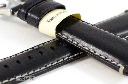 Pasek do zegarka skórzany - Morellato A01X4272B12019 24 mm