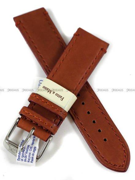 Pasek do zegarka skórzany - Morellato A01X4435A37041CR22 - 22 mm