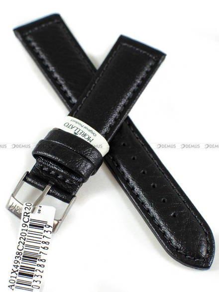 Pasek do zegarka skórzany - Morellato A01X4938C22019CR20 - 20 mm