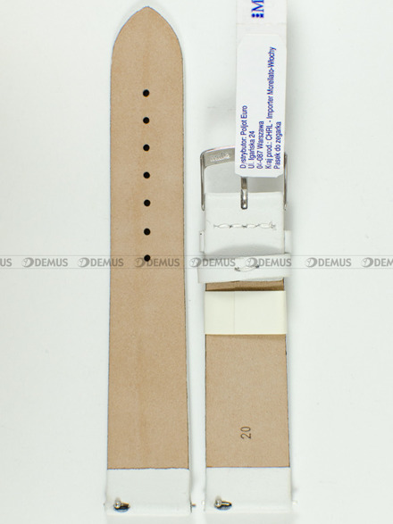 Pasek do zegarka skórzany - Morellato A01X5200875017CR20 20 mm