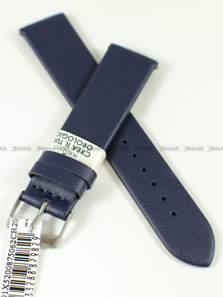 Pasek do zegarka skórzany - Morellato A01X5200875062CR20 - 20 mm