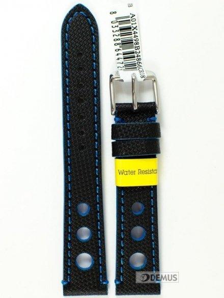 Pasek do zegarka wodoodporny z tworzywa - Morellato A01X4498B24866 18mm