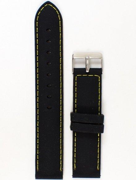 Pasek gumowy do zegarka JVD PG1.20MM.1.9