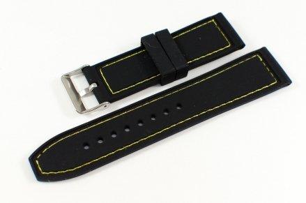 Pasek gumowy do zegarka JVD PG3.24MM.1.9