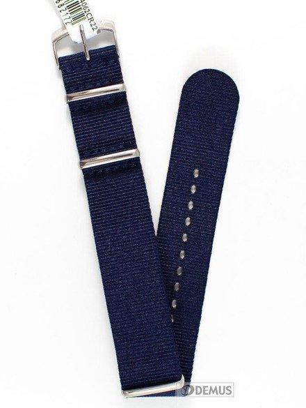Pasek nylonowy do zegarka - Morellato A01U3972A74062 22 mm