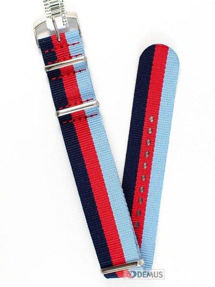 Pasek nylonowy do zegarka - Morellato A01U3972A74868 22 mm