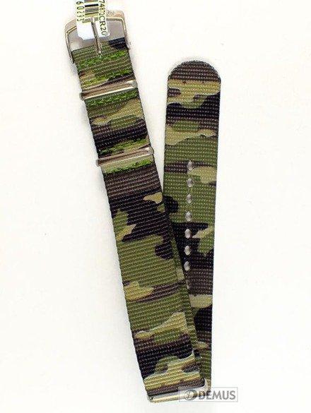 Pasek nylonowy do zegarka - Morellato A01U3972A74872 20 mm