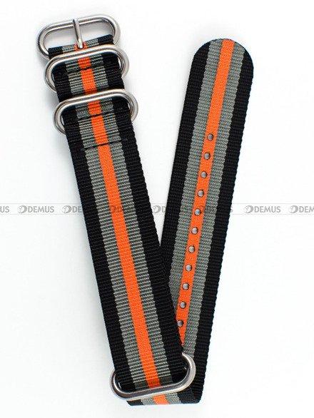 Pasek nylonowy do zegarka - Nato PN3.24.1.11.12 - 24 mm