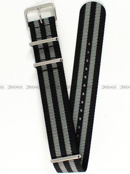 Pasek nylonowy do zegarka - Nato PNN1.22.1.11 - 22 mm