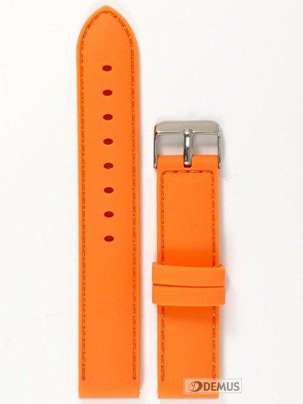 Pasek silikonowy do zegarka - Chermond PG1.20.5.5 - 20 mm