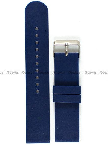 Pasek silikonowy do zegarka - Chermond PG11.22.2 - 22 mm