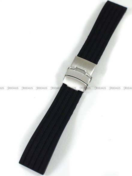 Pasek silikonowy do zegarka - Chermond PG6.22.1 - 22 mm