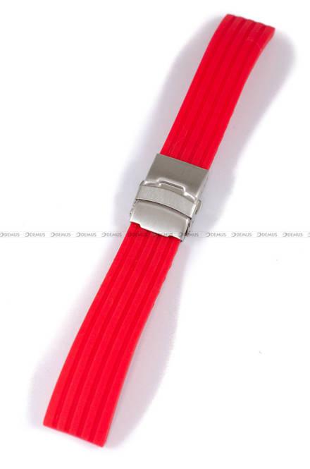 Pasek silikonowy do zegarka - Chermond PG6.22.4 - 22 mm