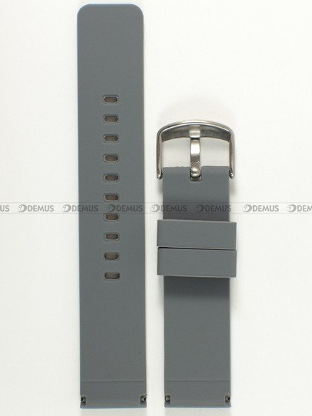 Pasek silikonowy do zegarka - Chermond PG8.20.11 - 20 mm
