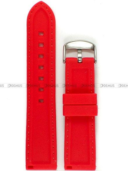 Pasek silikonowy do zegarka - Chermond PG9.22.4.4 - 22 mm