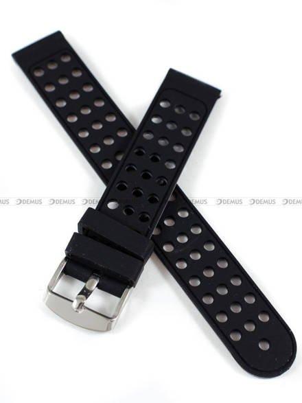 Pasek silikonowy do zegarka - Demus PGS2.18.1.11 - 18 mm