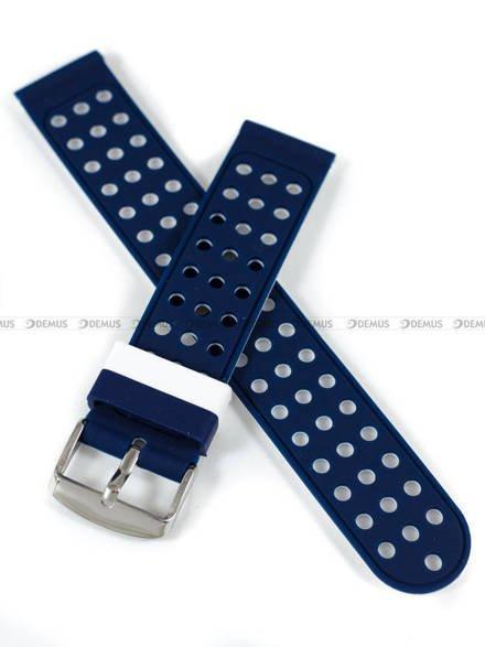 Pasek silikonowy do zegarka - Demus PGS2.20.5.7 - 20 mm