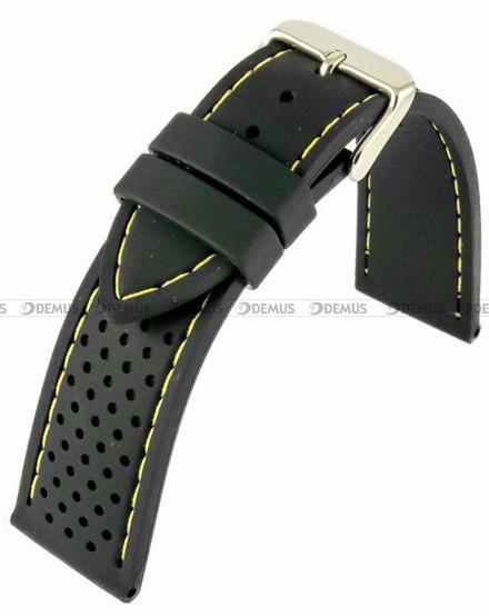 Pasek silikonowy do zegarka - Horido 0015.01Y.20S - 20 mm